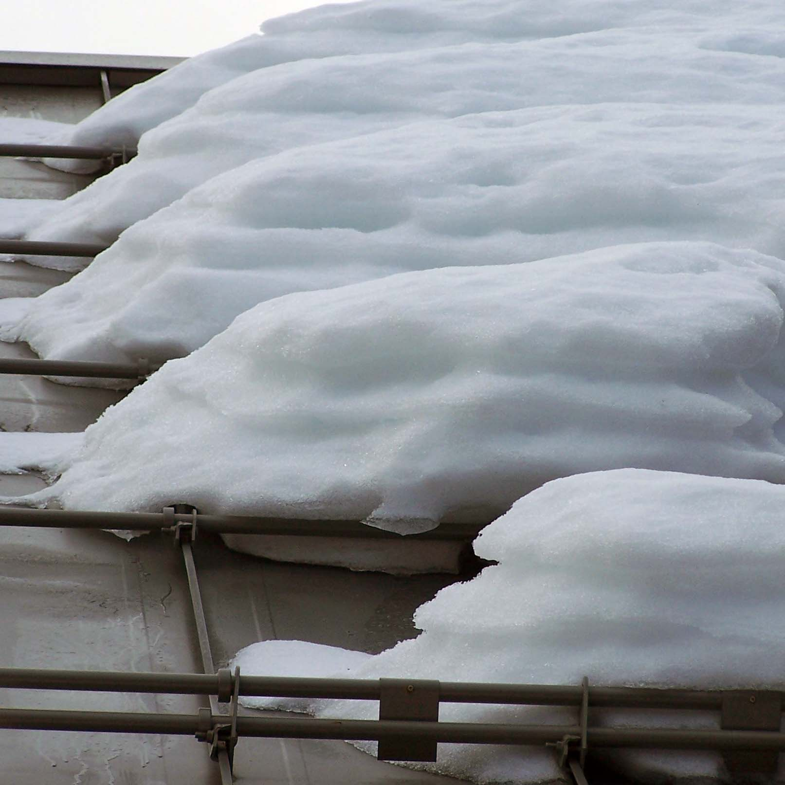 Corrugated Snow Guard Installation