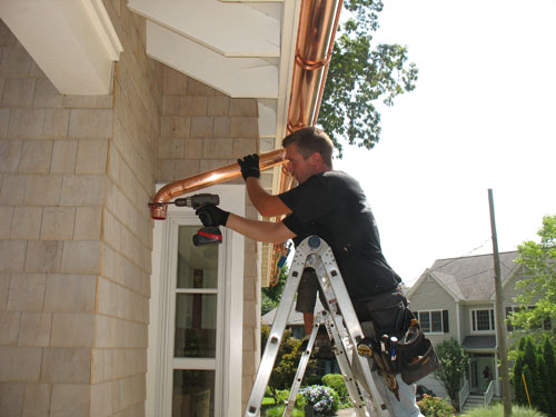 Integral Gutter Installation